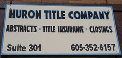 Huron Title Company is located in Huron, South Dakota.